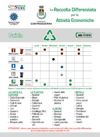 Calendario Attivita.Calendario Attivita Economiche 2019 Comune Di Controguerra